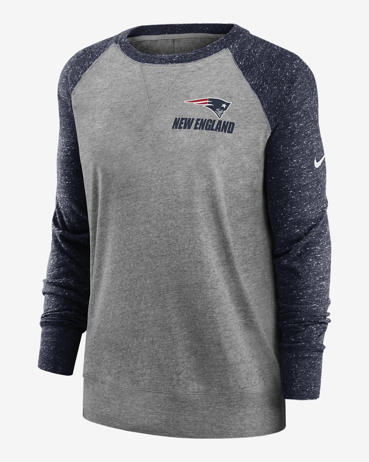 alumno Médico Parcialmente  Sudadera para mujer Nike Gym Vintage (NFL Patriots). Nike.com