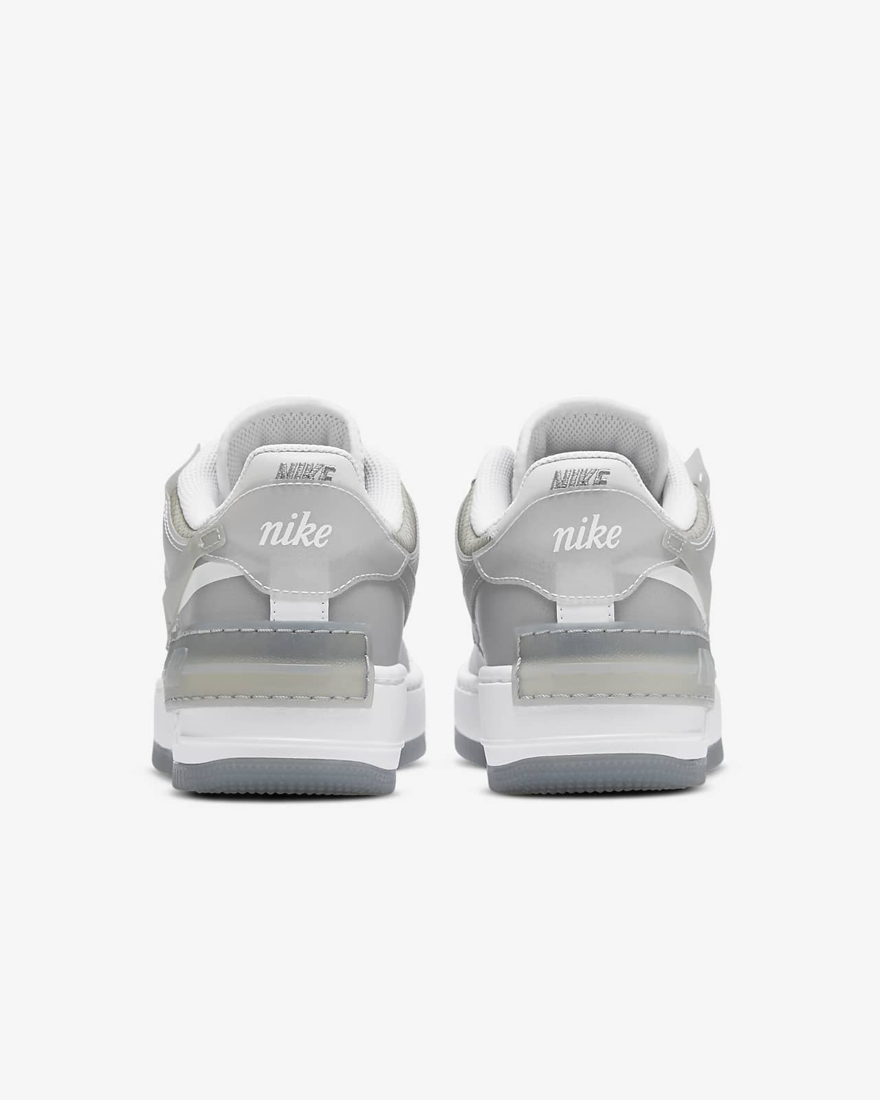 nike air force 1 donna bianche e grigie