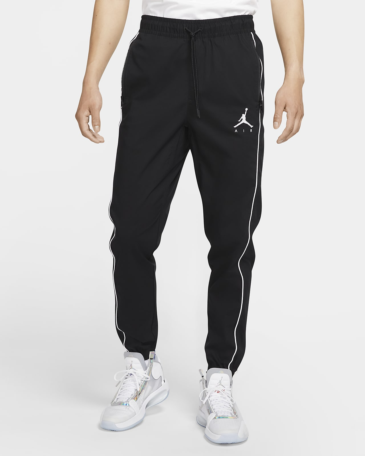 กางเกงผู้ชายแบบทอ Jordan Jumpman