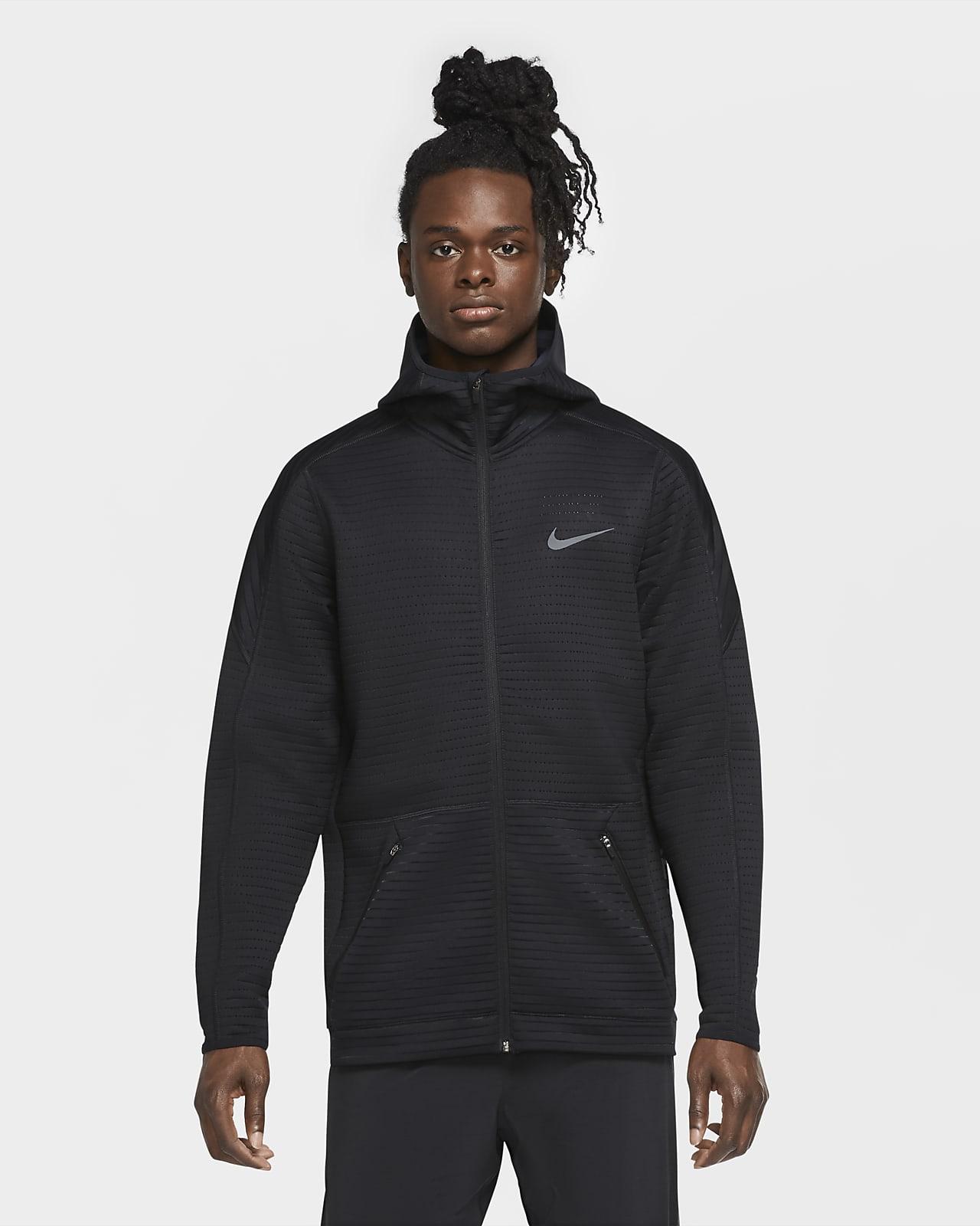 Sudadera con capucha de entrenamiento de cierre completo para hombre Nike