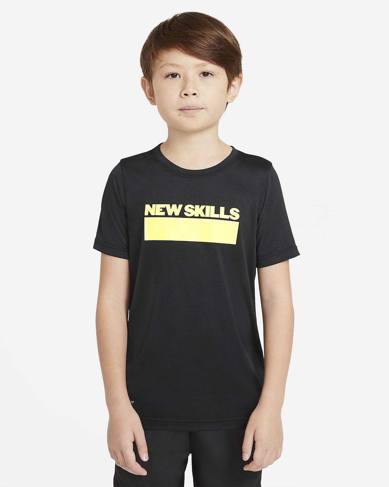 T-shirt de treino Nike Dri-FIT Júnior (Rapaz)