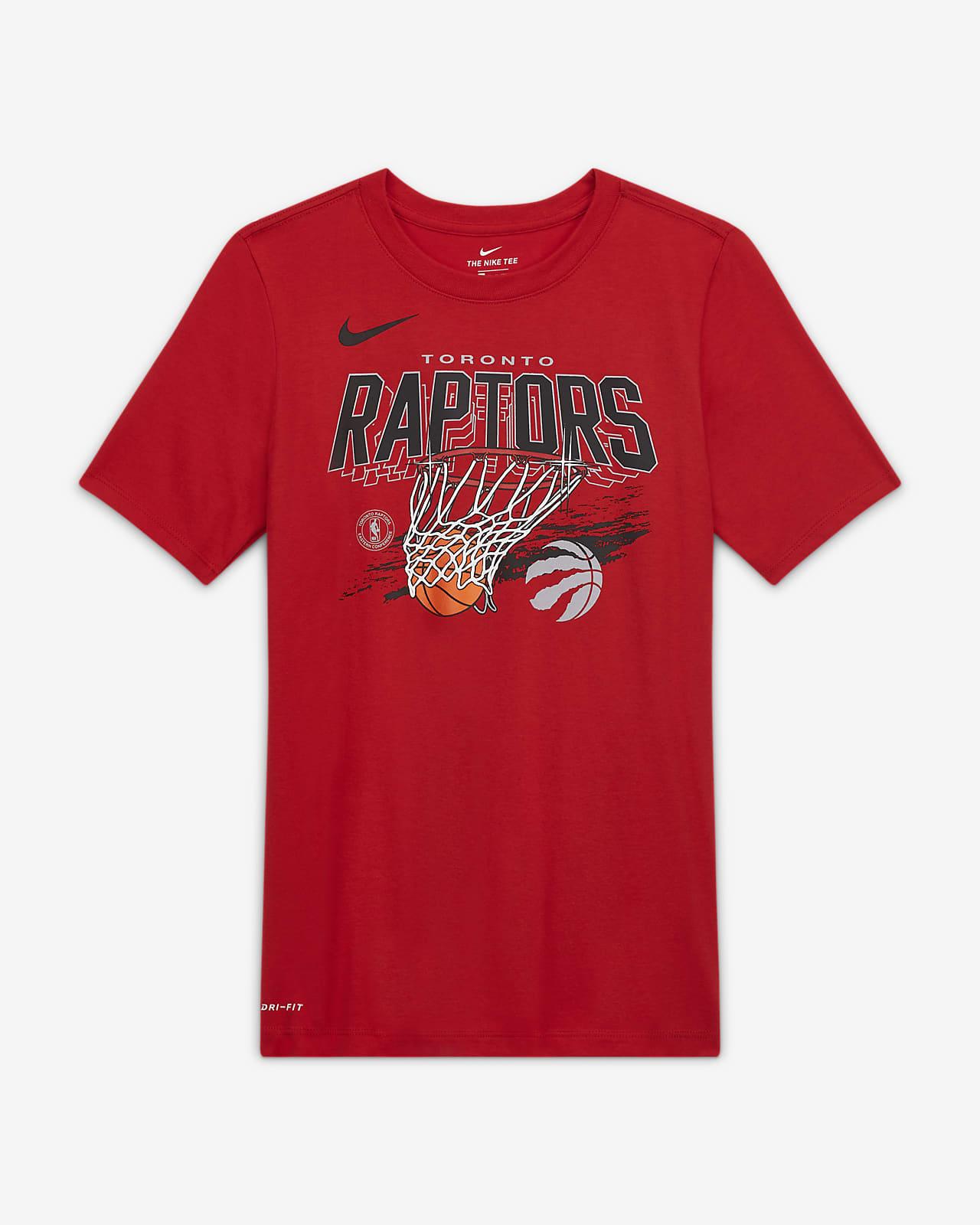 Raptors Team Mark Older Kids' Nike Dri-FIT NBA T-Shirt