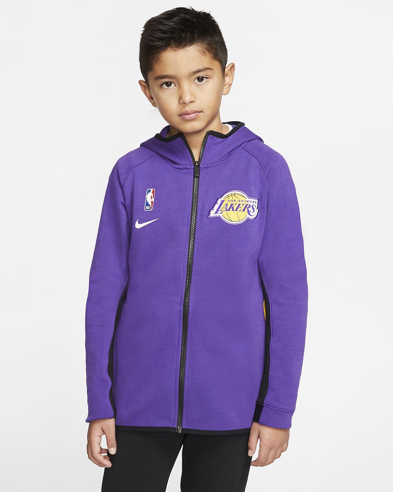 Lakers Showtime Older Kids' Nike Dri-FIT NBA Hoodie