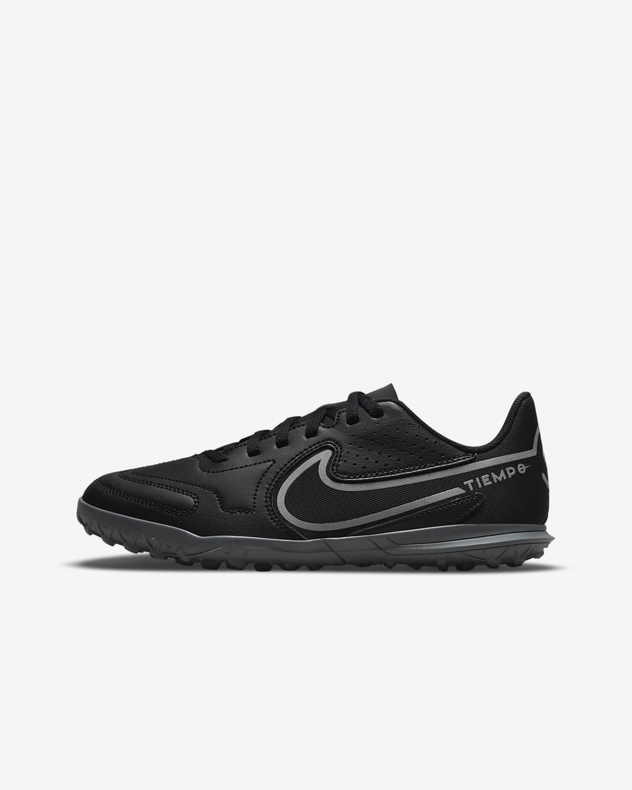 Nike Jr. Tiempo Legend 9 Club TF Little/Big Kids' Turf Soccer Shoe
