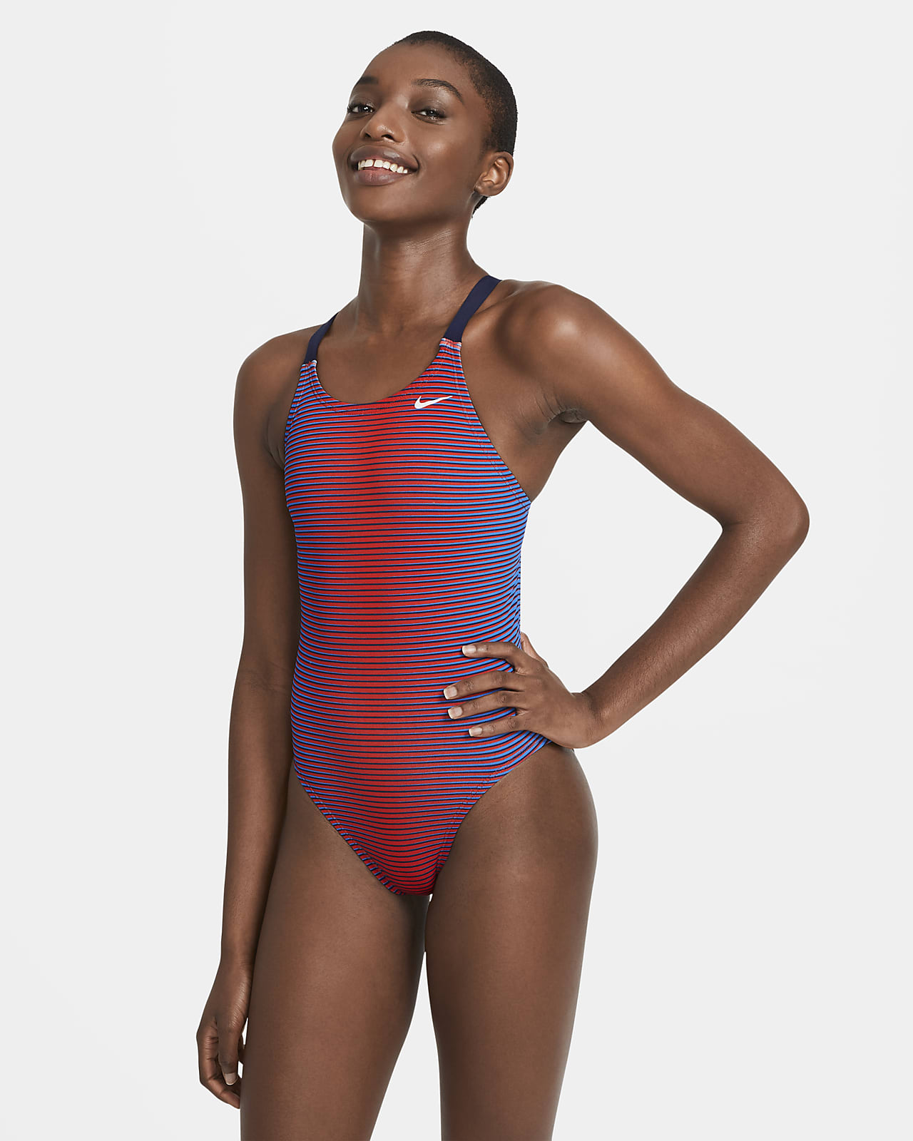Nike HydraStrong Charge Fastback Women's 1-Piece Swimsuit