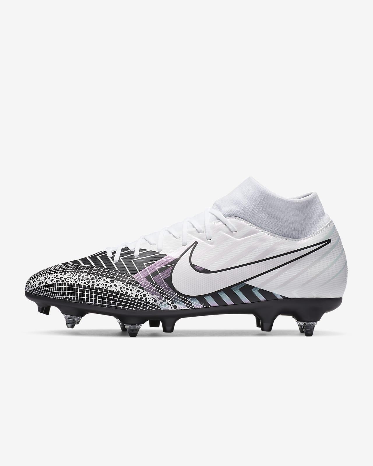 Футбольные бутсы для игры на мягком грунте Nike Mercurial Superfly 7 Academy MDS SG-PRO Anti-Clog Traction