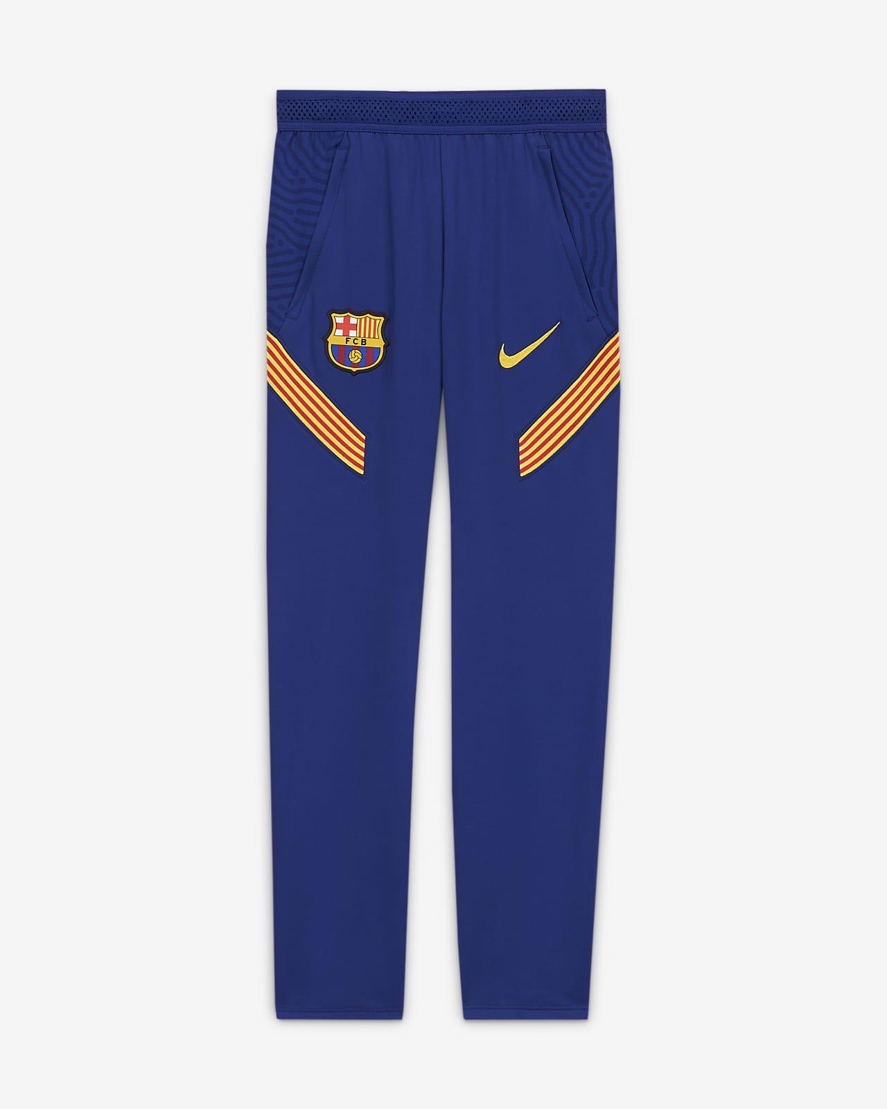 Fotbalové kalhoty FC Barcelona Strike pro větší děti