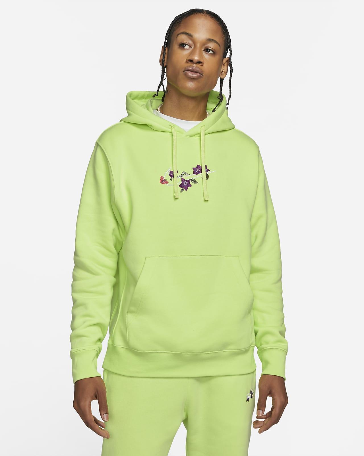 Nike Sportswear Club Men's Logo Twist Fleece Pullover Hoodie