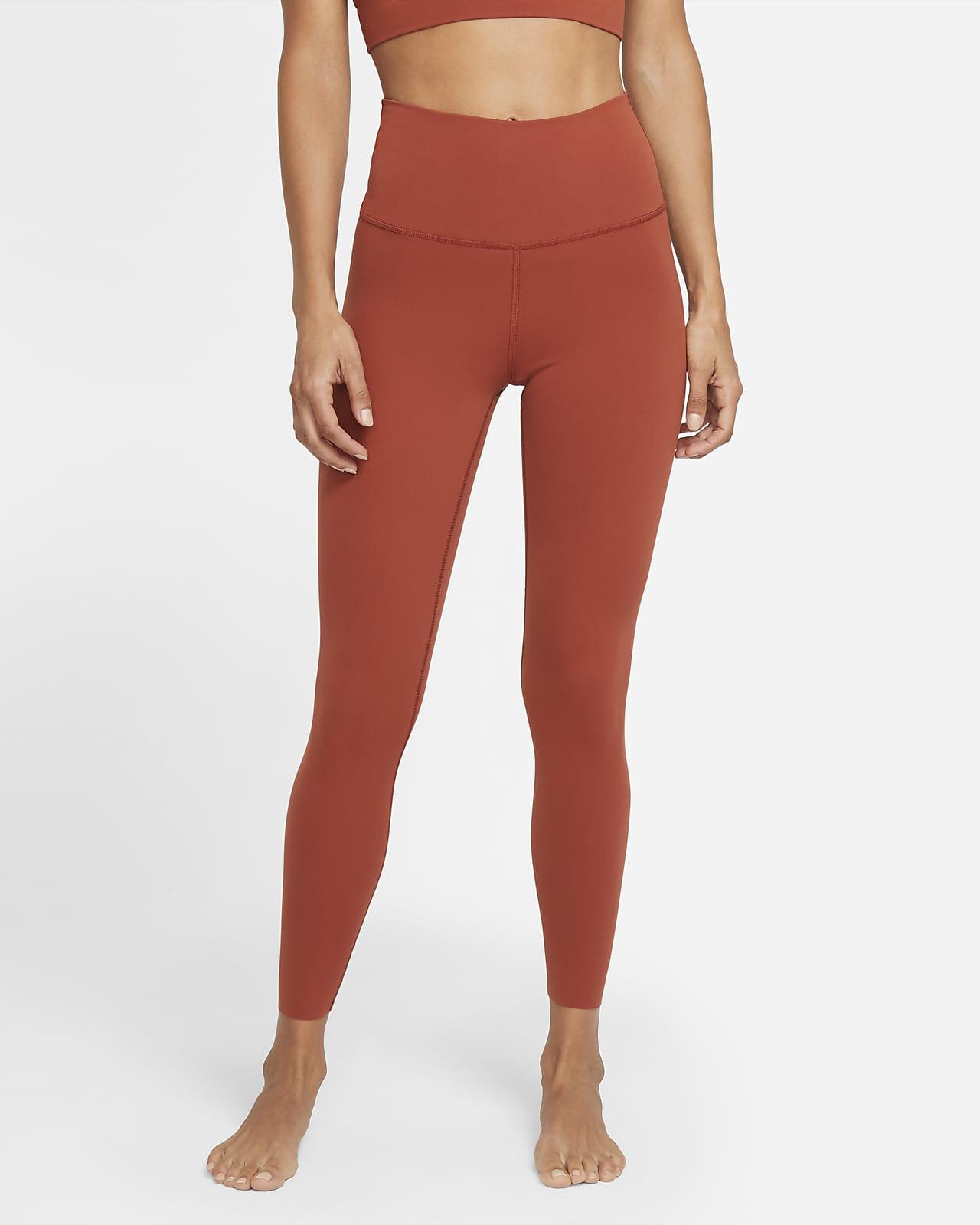 Leggings de tela Infinalon y cintura alta de 7/8 para mujer Nike Yoga Luxe