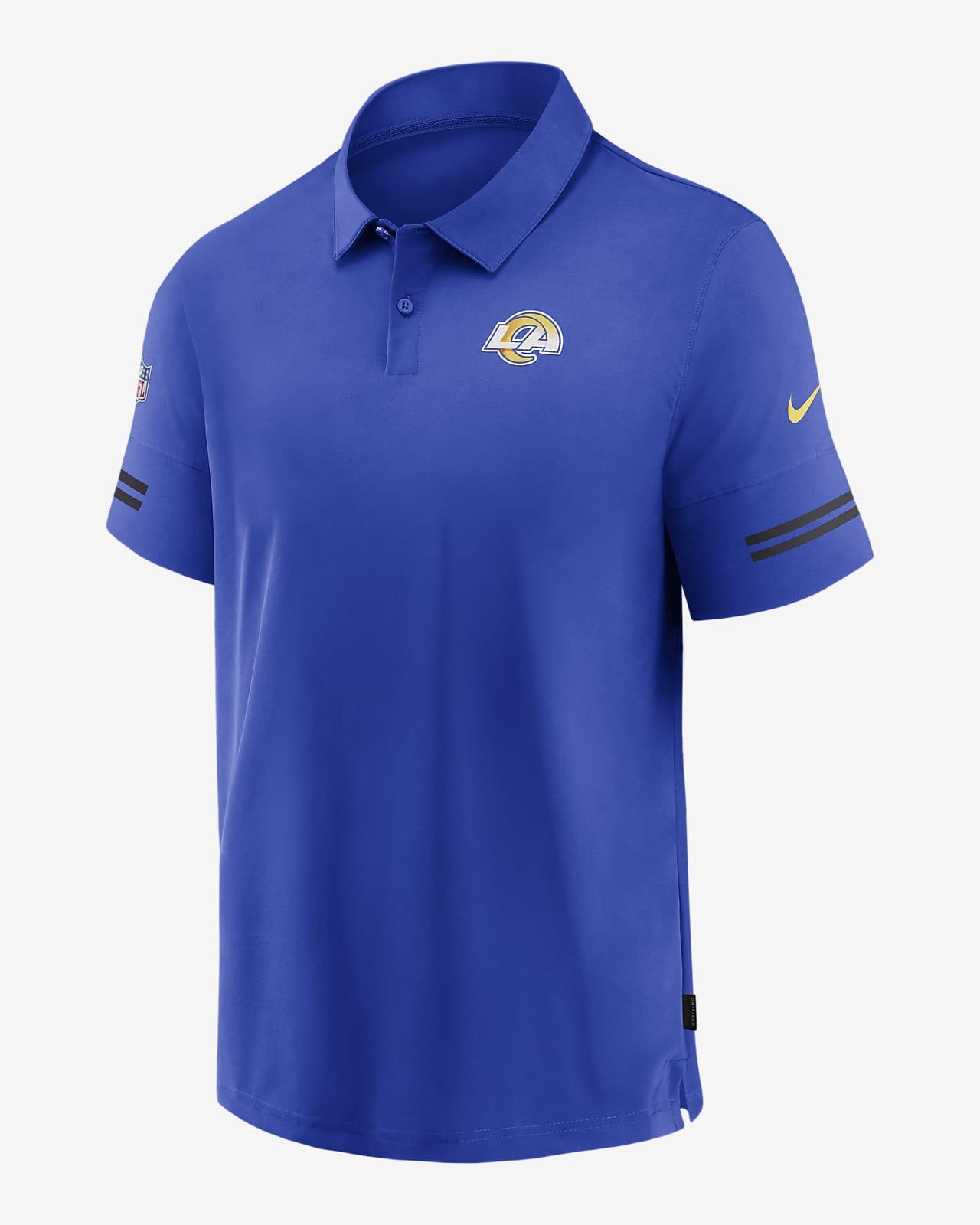 Elegibilidad cuchara flexible  Nike Logo (NFL Rams) Men's Short-Sleeve Polo. Nike.com