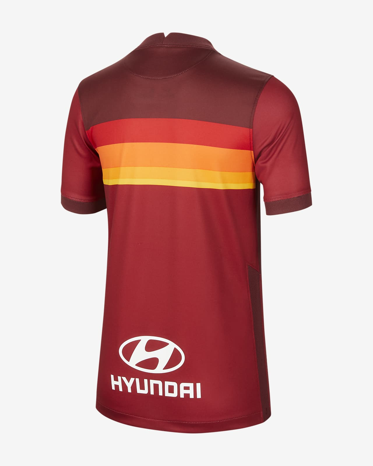 A S Roma 2020 21 Stadium Home Older Kids Football Shirt Nike Lu