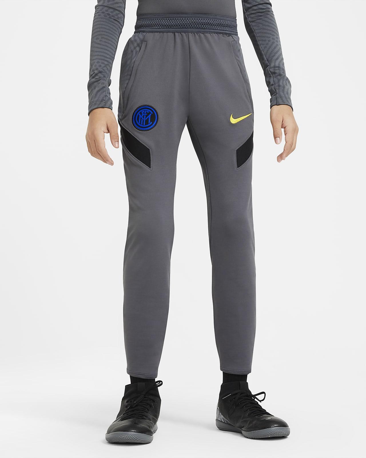 Pantalones de fútbol para niños talla grande Inter Milan Strike