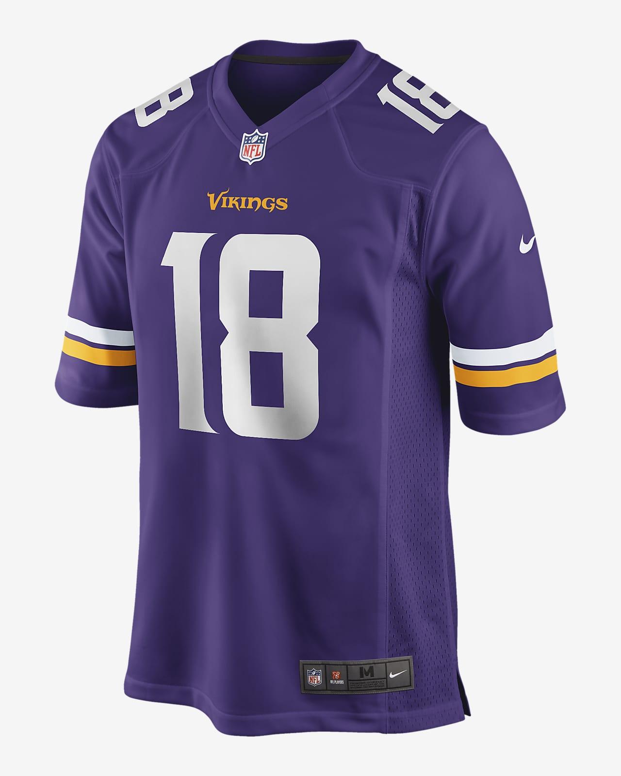 NFL Minnesota Vikings (Justin Jefferson) Men's Game Jersey