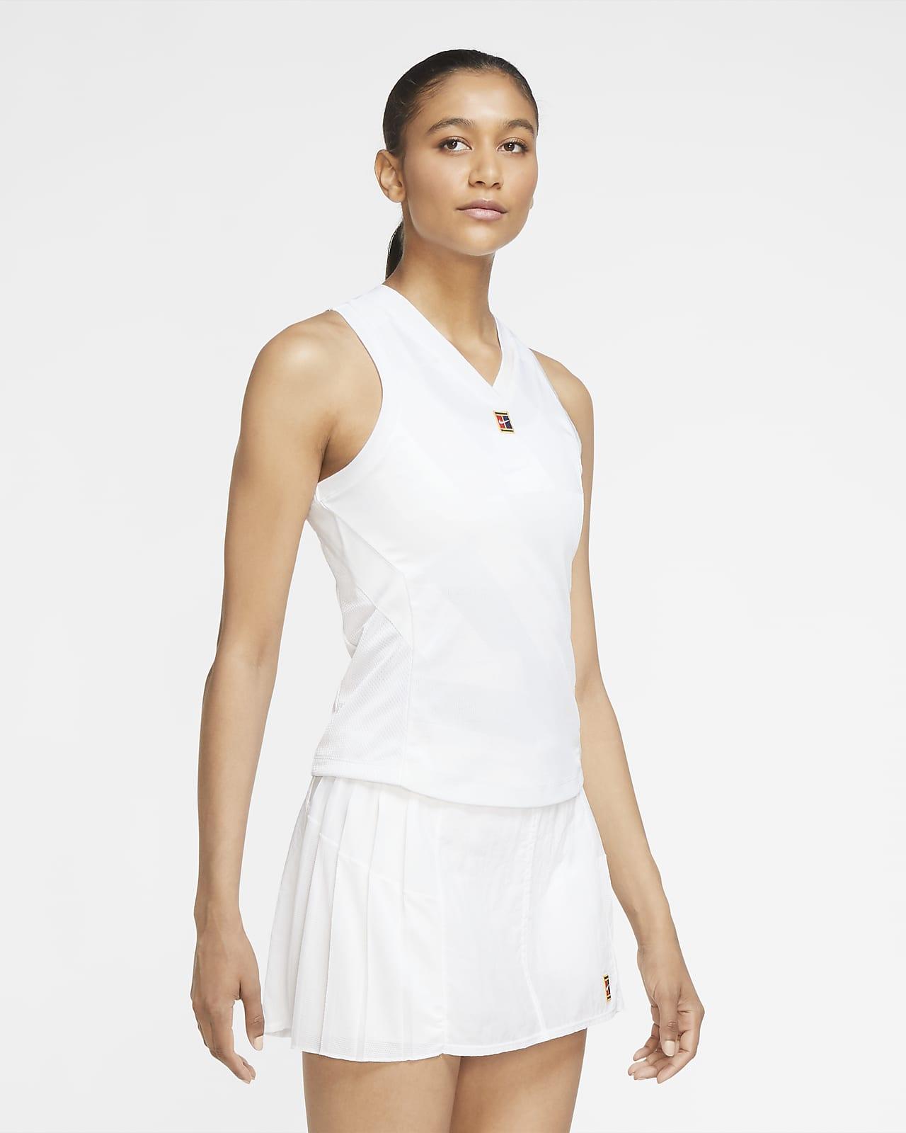 NikeCourt Dri-FIT Slam tennissinglet til dame