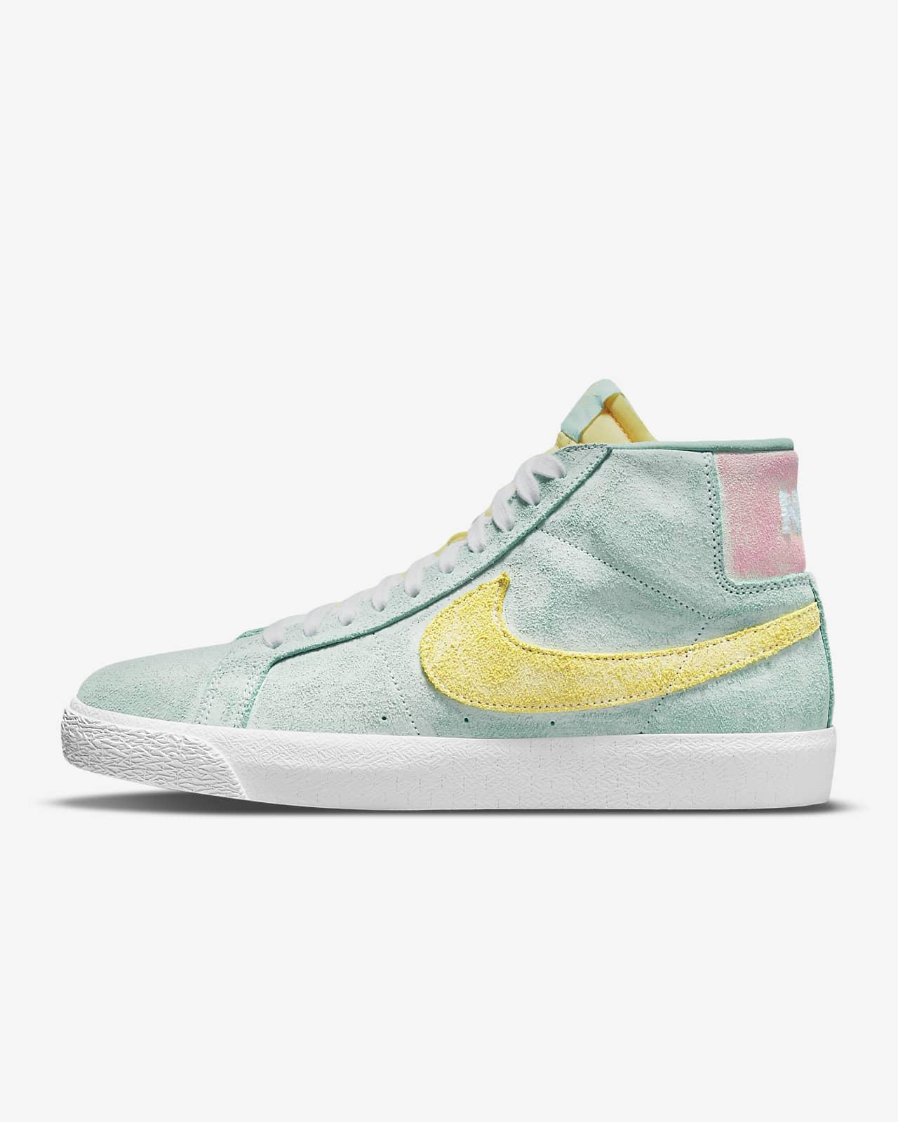 Nike SB Zoom Blazer Mid Premium Skate Shoe. Nike LU