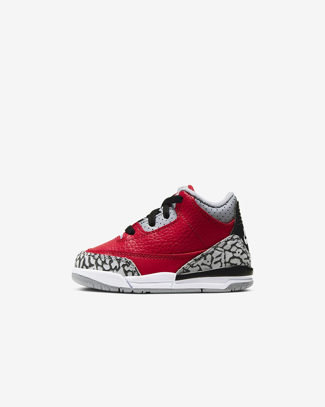Chaussure Jordan 3 Retro SE pour Petit enfantBébé