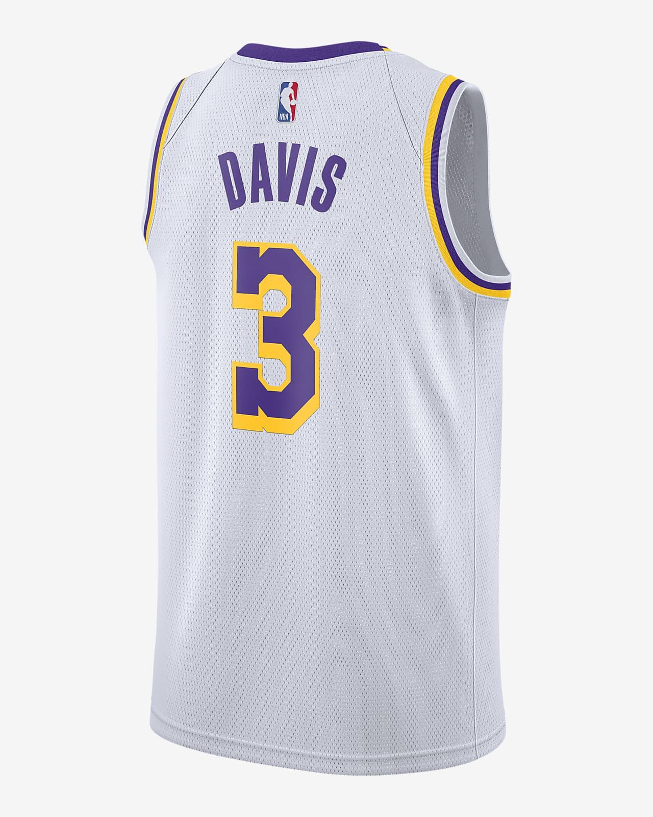 Anthony Davis Lakers Association Edition 2020 Nike NBA Swingman Jersey