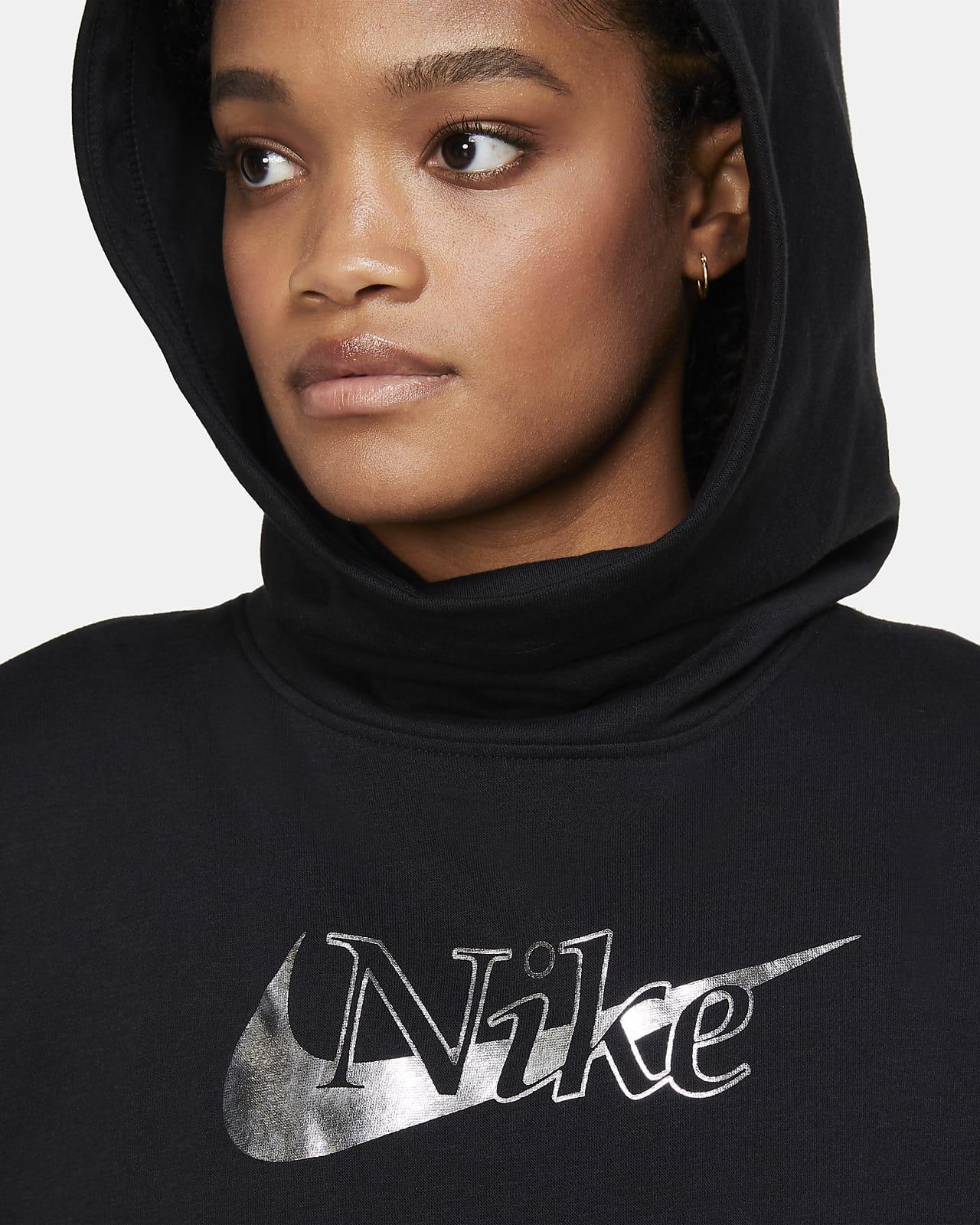 Rechazar convergencia preparar  Sudadera de tejido Fleece con cierre cuello alto para mujer Nike Sportswear  Icon Clash. Nike.com