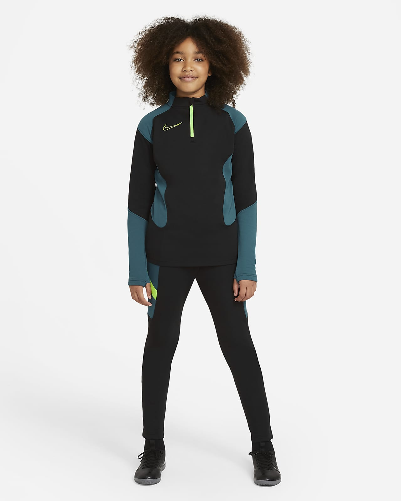 Nike Dri-FIT Academy Older Kids' Knit Football Tracksuit