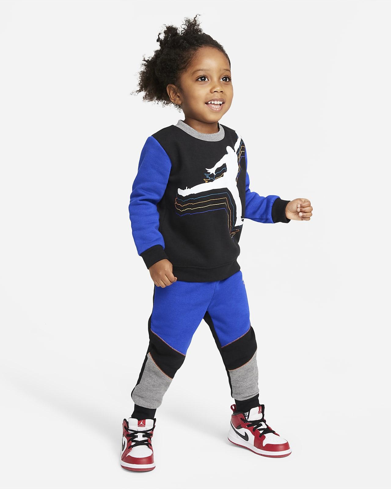 Jordan Baby (12-24M) Crew and Pants Set