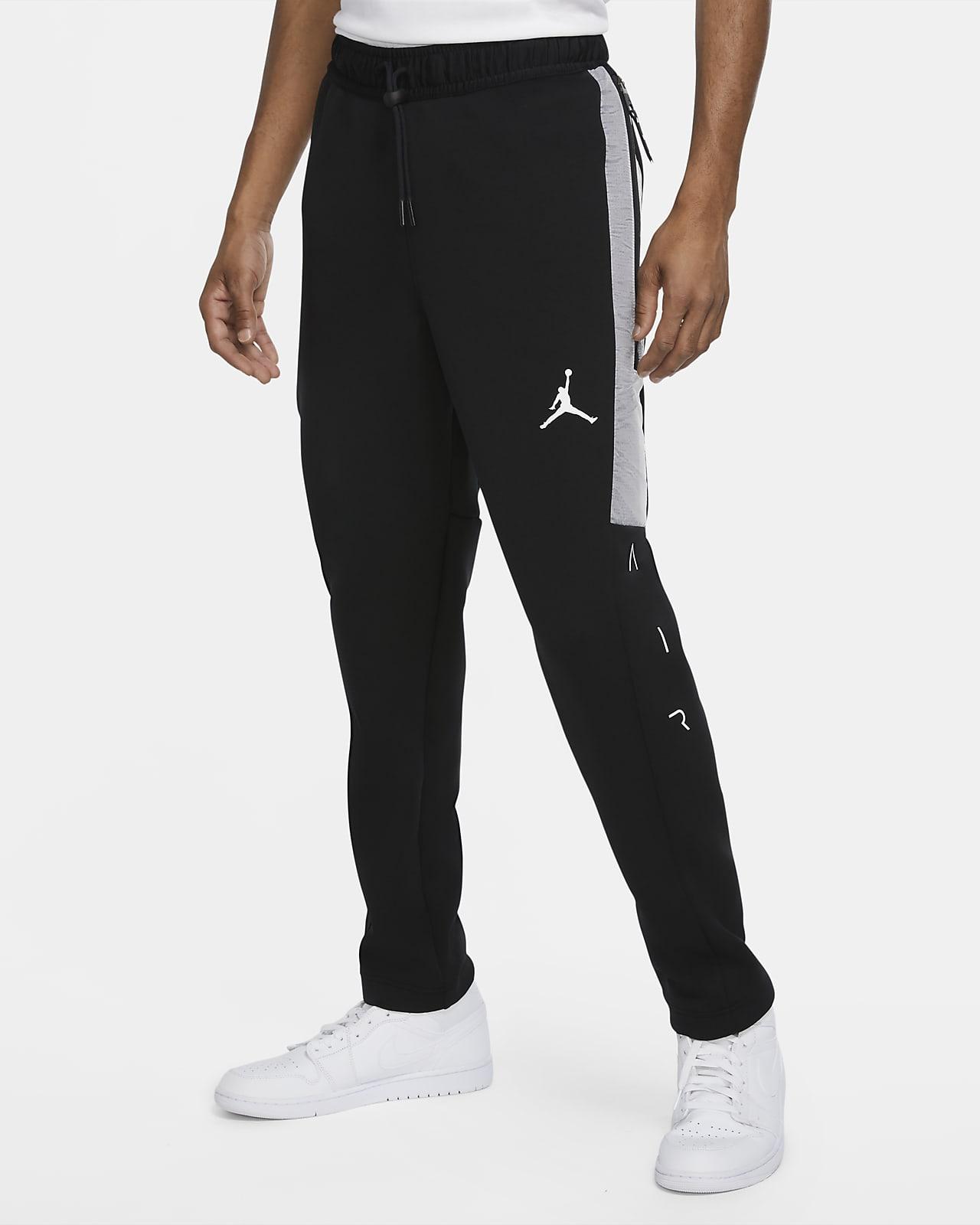Calças de lã cardada Jordan Air para homem