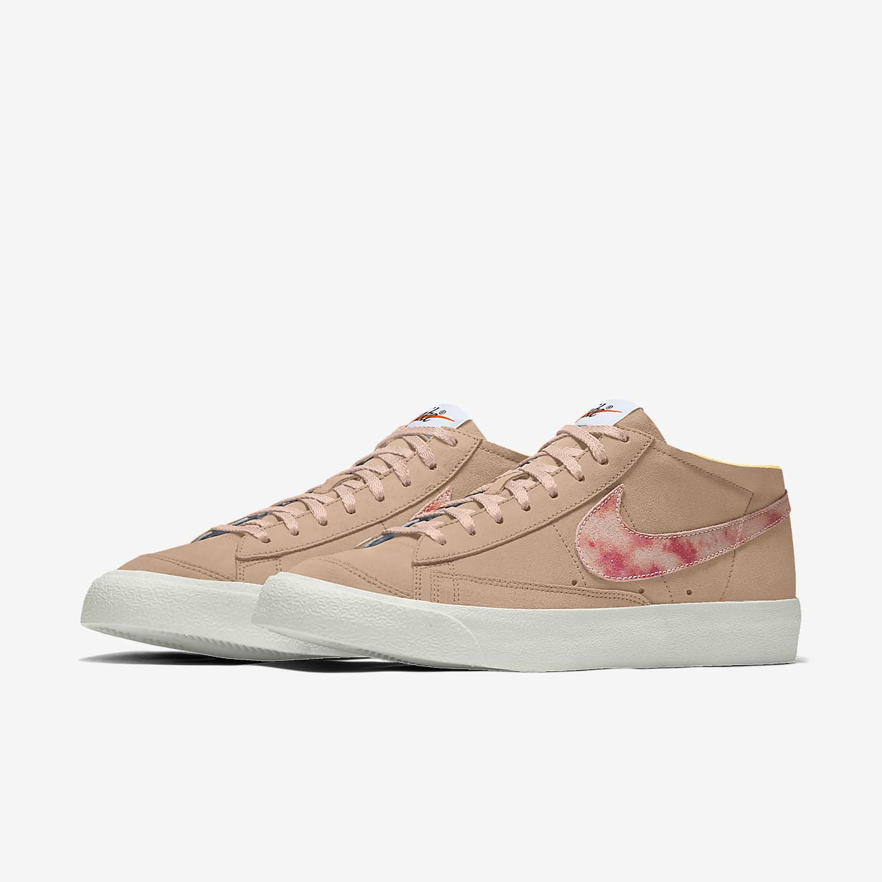Nike Blazer Mid '77 By You Custom lifestyleschoen voor dames