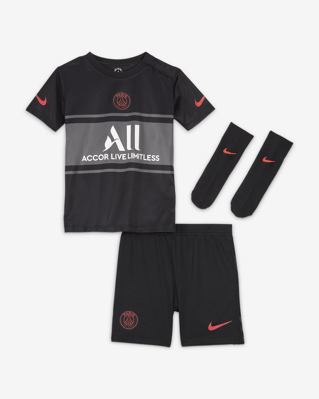 Divisa Paris Saint-Germain 2021/22 per neonati/bimbi piccoli - Terza