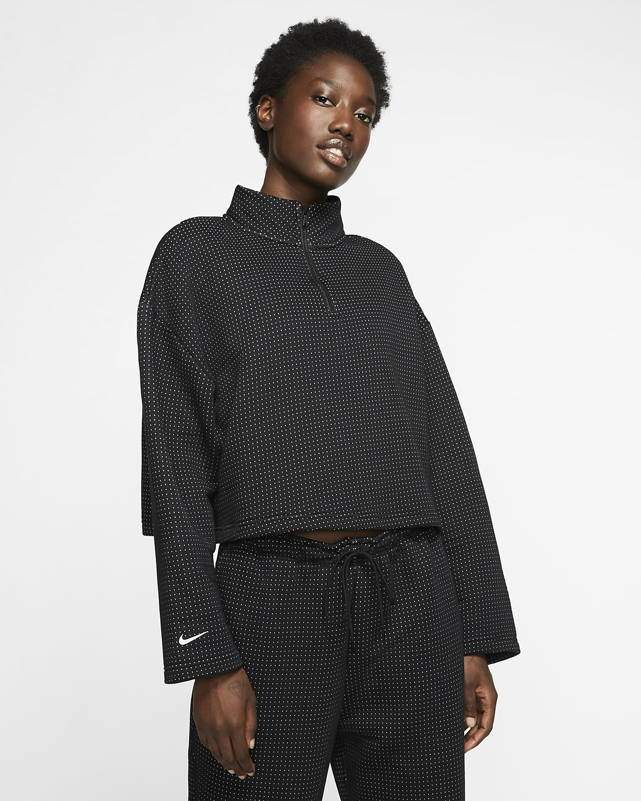 Nike Sportswear Tech Fleece Damen-Oberteil mit Viertelreißverschluss