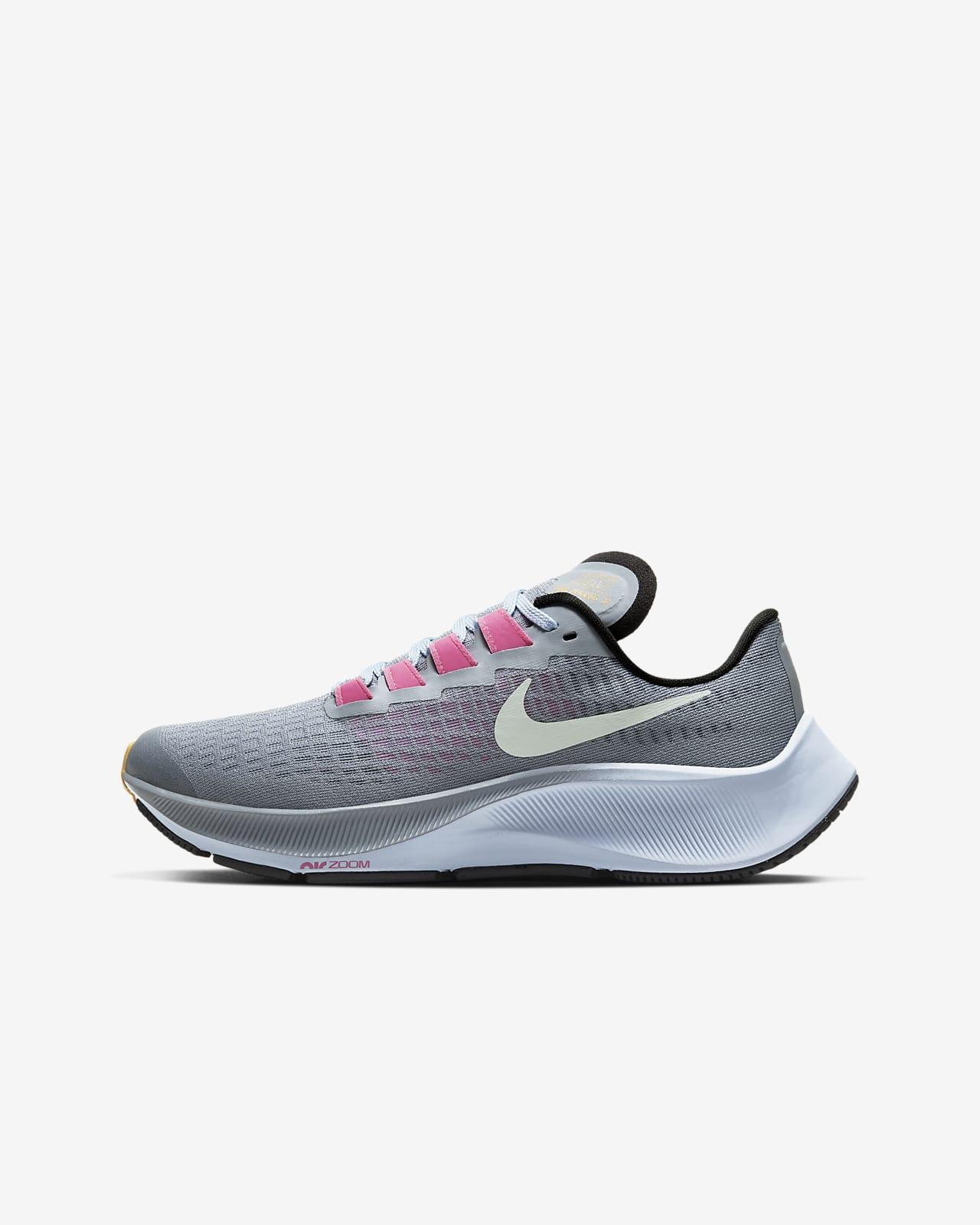 curso desarrollando Restricciones  Calzado de running para niño talla grande Nike Air Zoom Pegasus 37. Nike.com