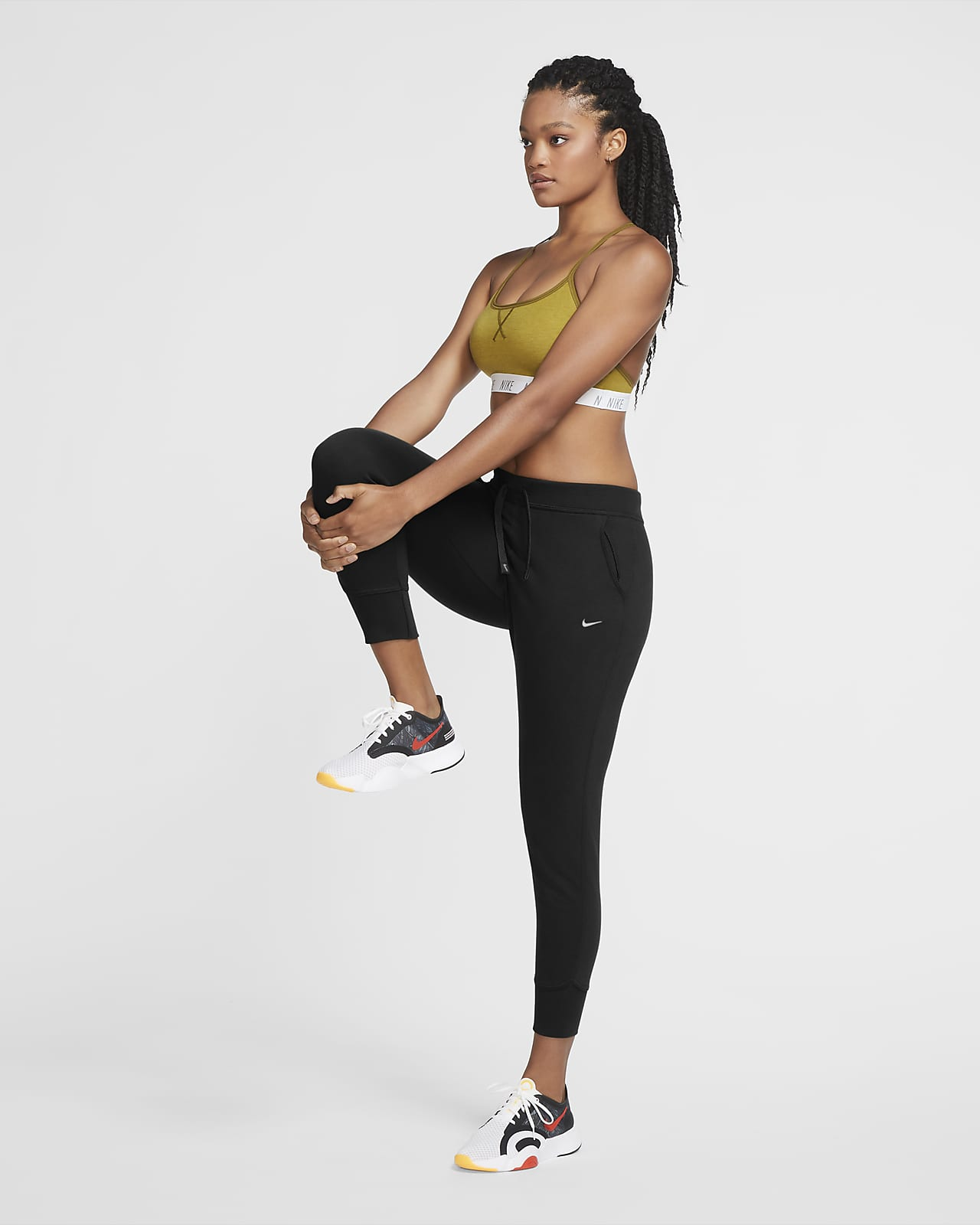 Nike Dri Fit Get Fit Women S Training Trousers Nike Nl The wide racerback style lets you move freely during your workout, while the wide. nike dri fit get fit women s training trousers