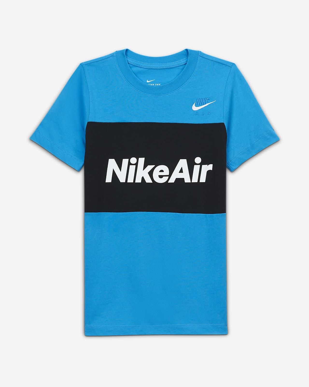 T-shirt dla dużych dzieci (chłopców) Nike Air