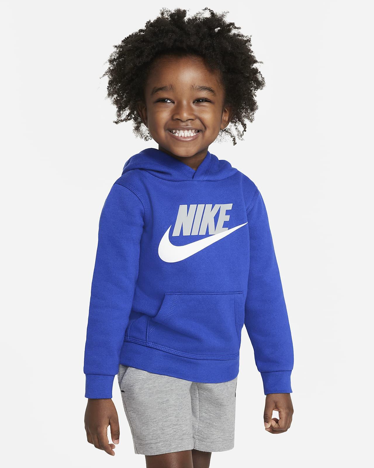 Sudadera con capucha sin cierre infantil Nike Sportswear Club Fleece
