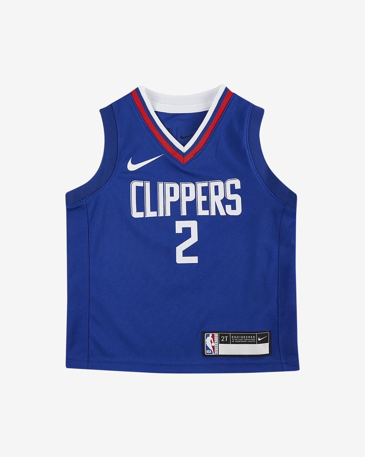 洛杉矶快船队 (Kawhi Leonard) Icon Edition Nike NBA Replica Jersey 婴童球衣