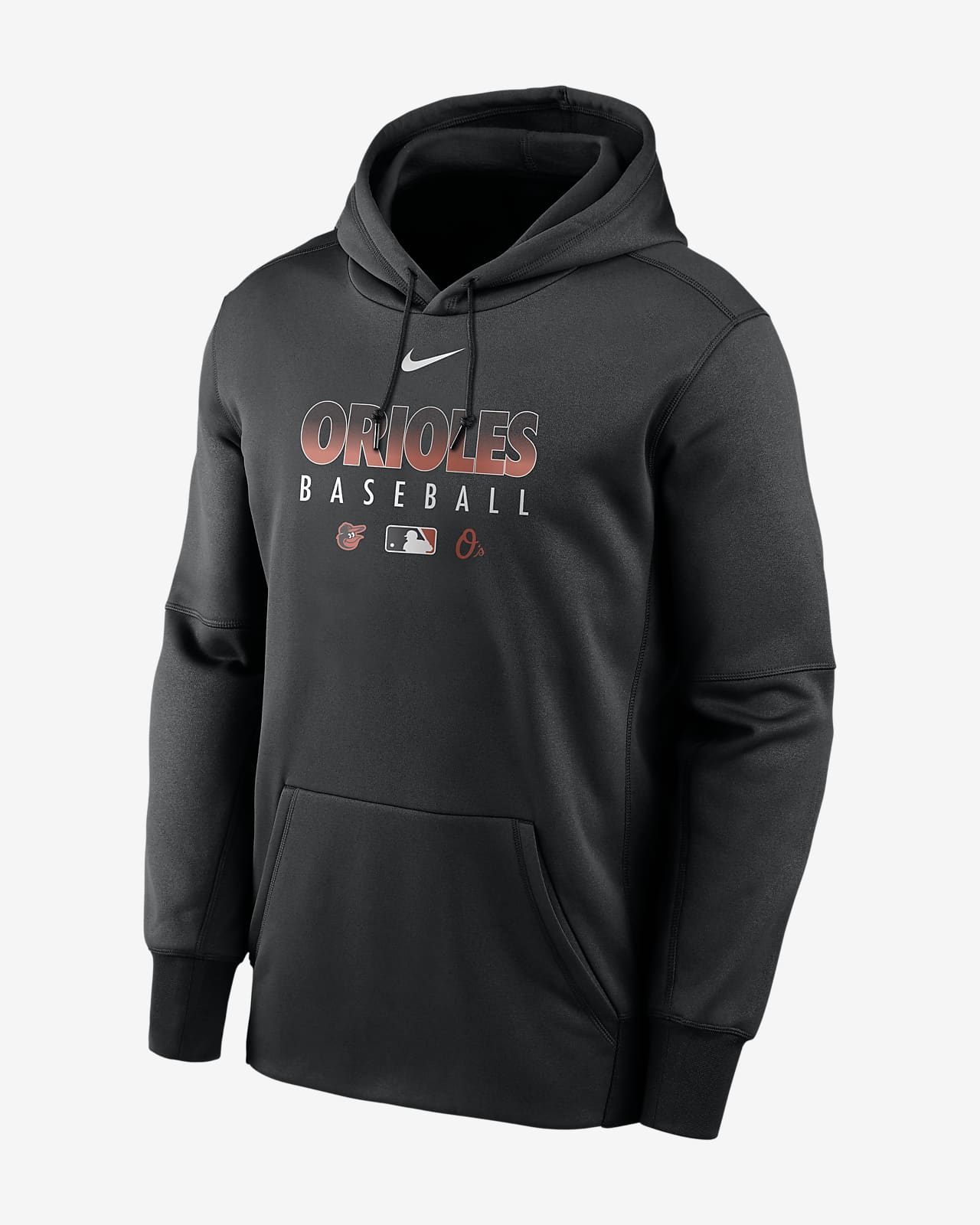 Nike Therma (MLB Baltimore Orioles) Men's Pullover