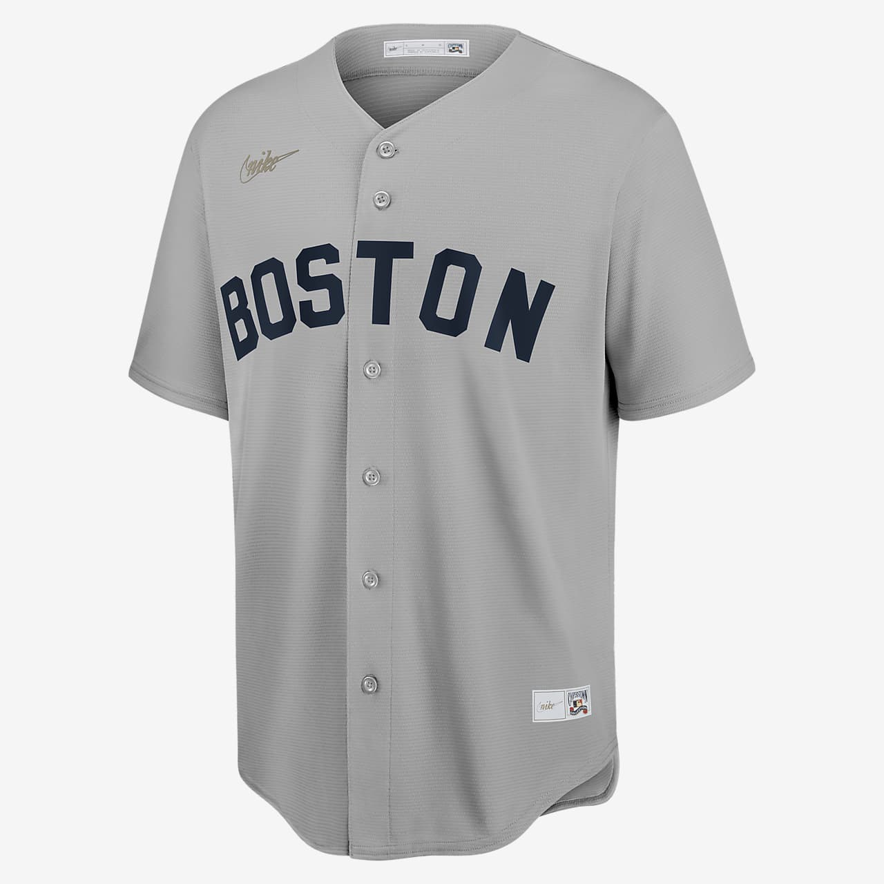 MLB Boston Red Sox (Ted Williams) Men's Cooperstown Baseball Jersey