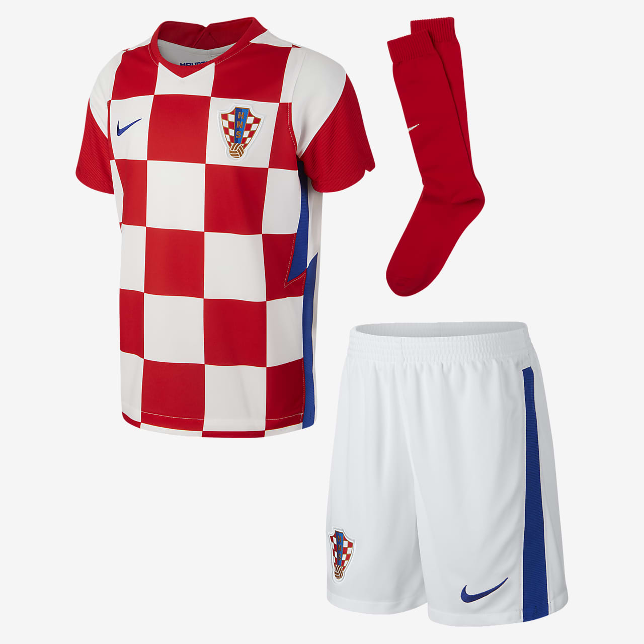 Croatia 2020 Home Younger Kids' Football Kit