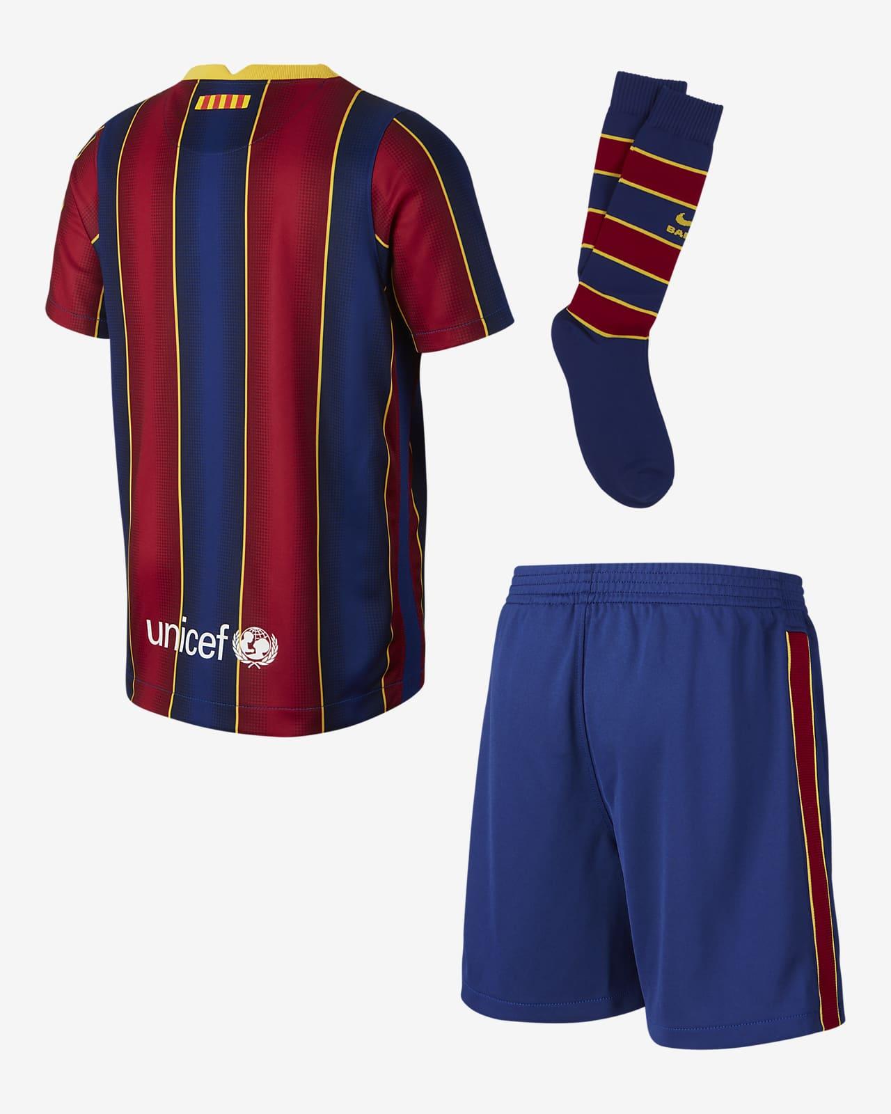 Divisa da calcio FC Barcelona 2020/21 per bambini - Home