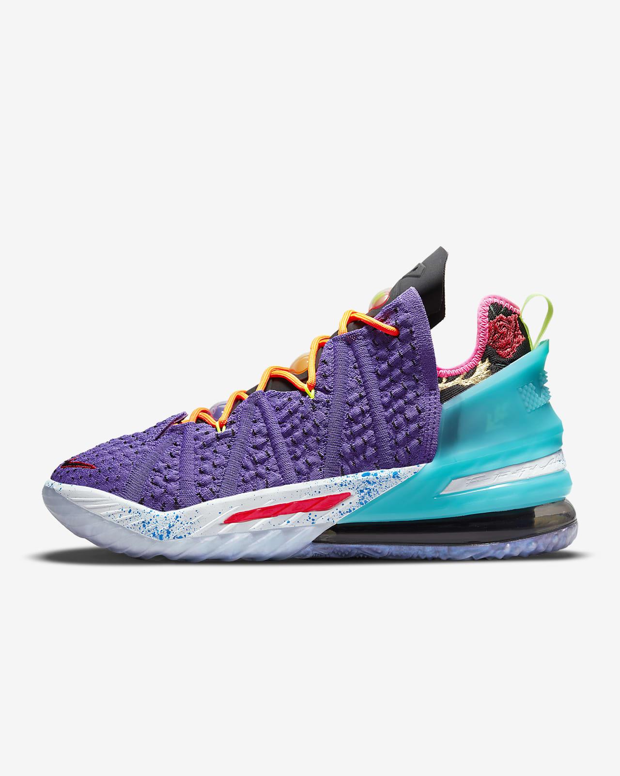 Chaussure de basketball LeBron18 «Best 10-18»