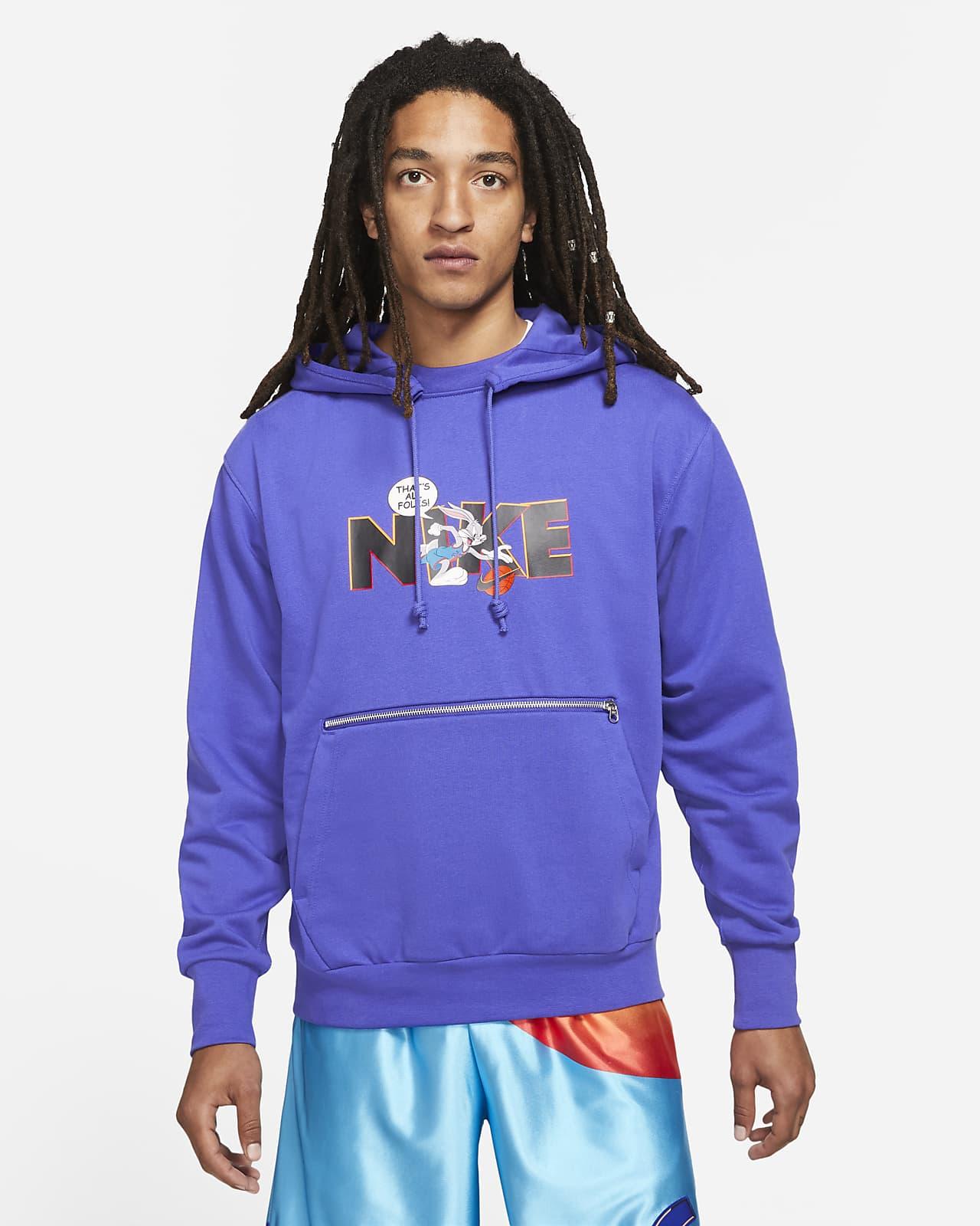 Nike Dri-FIT Standard Issue x Space Jam: A New Legacy Basketball-Hoodie für Herren