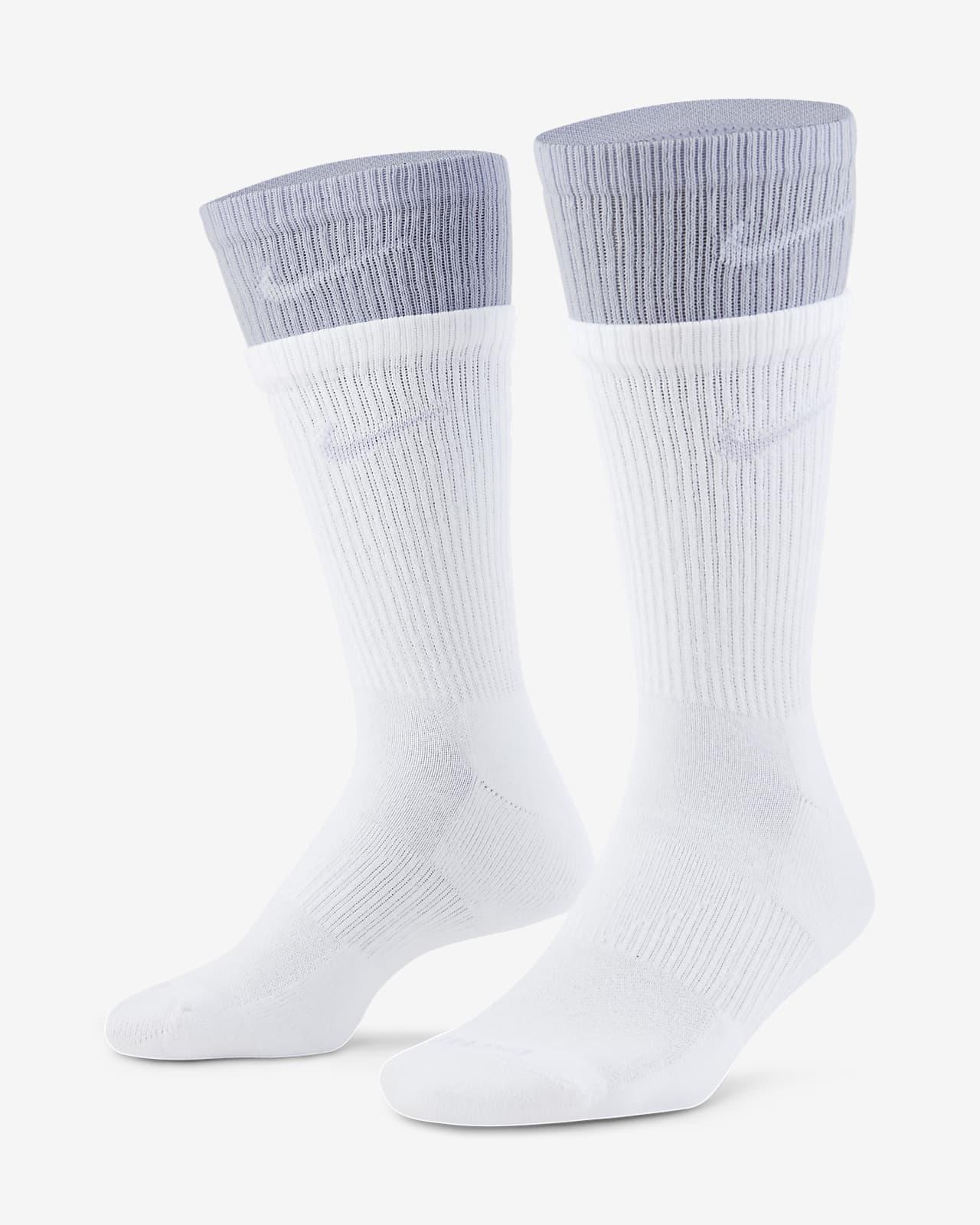 ถุงเท้าเทรนนิ่งข้อยาว Nike Everyday Plus Cushioned