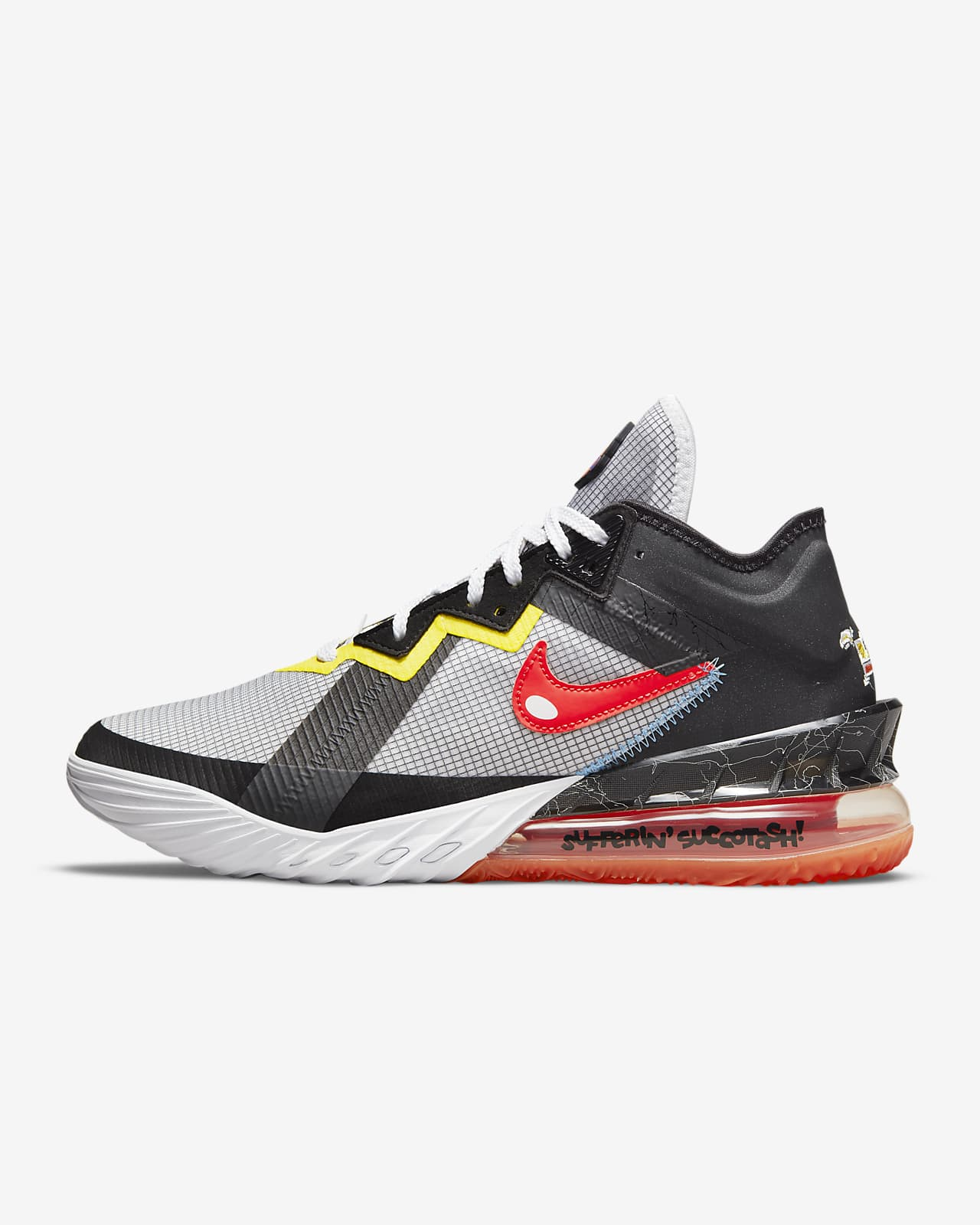 Chaussure de basketball LeBron18 Low «Sylvester vs Tweety»