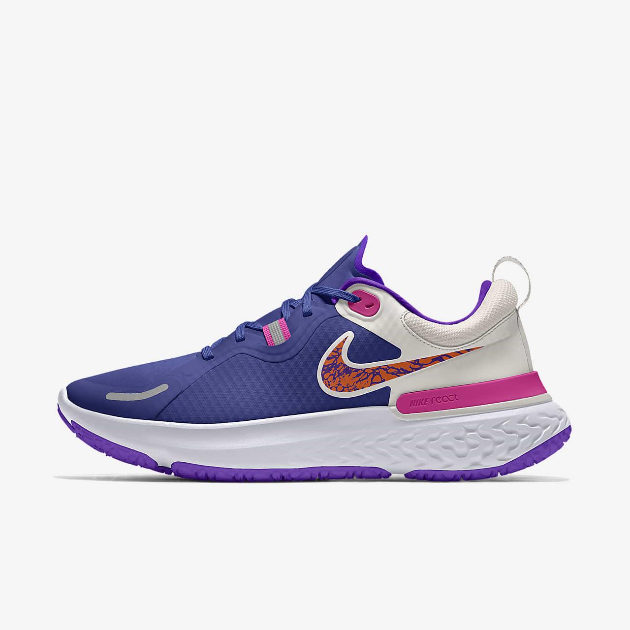Personalizowane buty do biegania Nike React Miler Shield By You