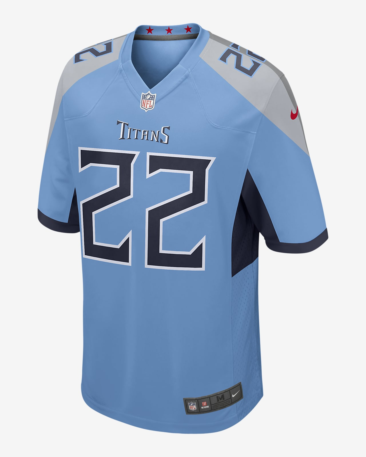 NFL Tennessee Titans (Derrick Henry) Game Men's Football Jersey