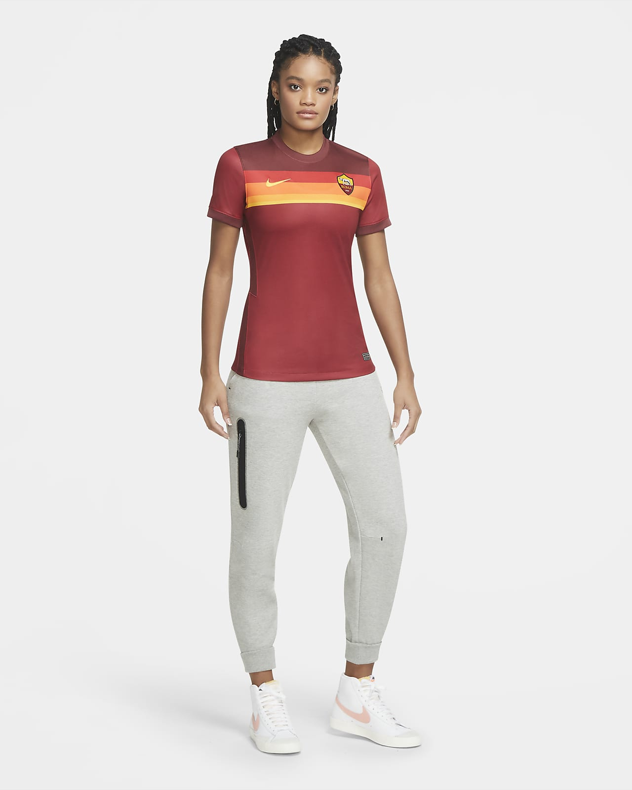 AS Roma 2020/21 Stadium Home Women's Football Shirt