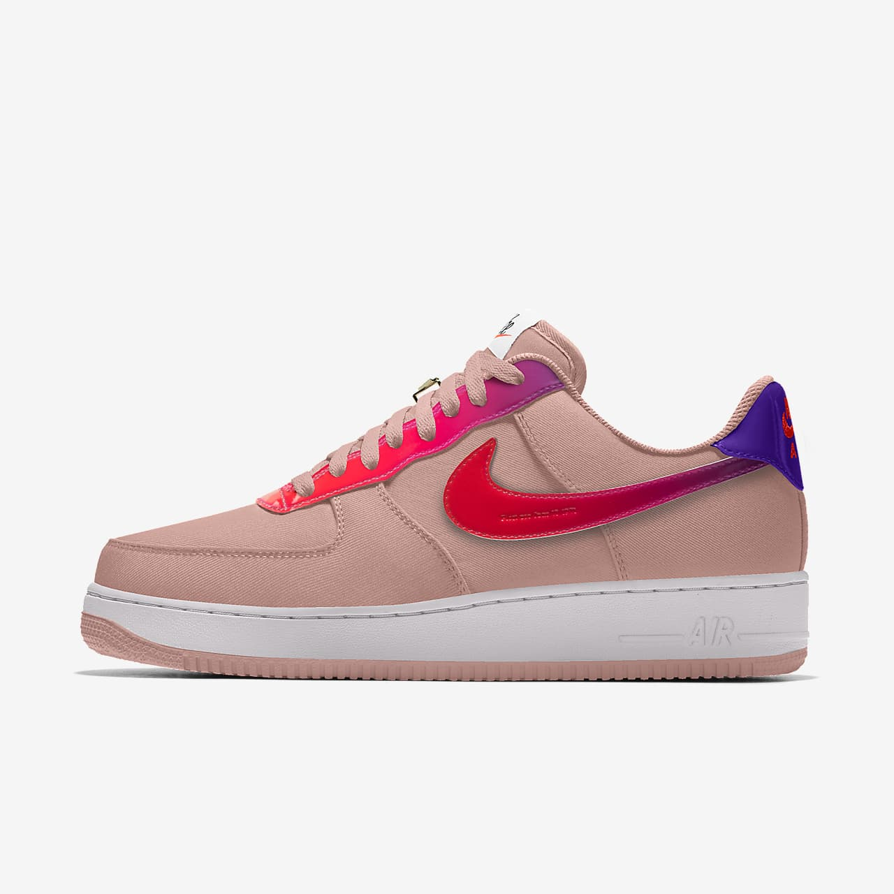 Chaussure personnalisable Nike Air Force 1 Low Unlocked pour Femme ...