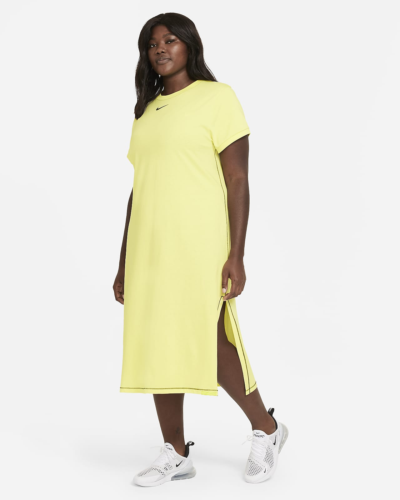 Nike Sportswear Icon Clash Women's Maxi Dress (Plus Size)