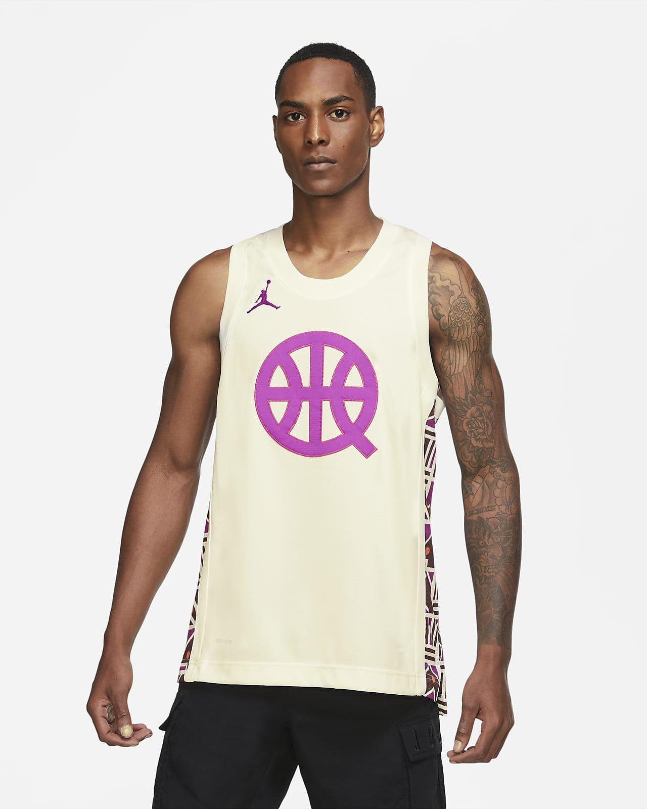 Męska koszulka do koszykówki Jordan Air Quai 54