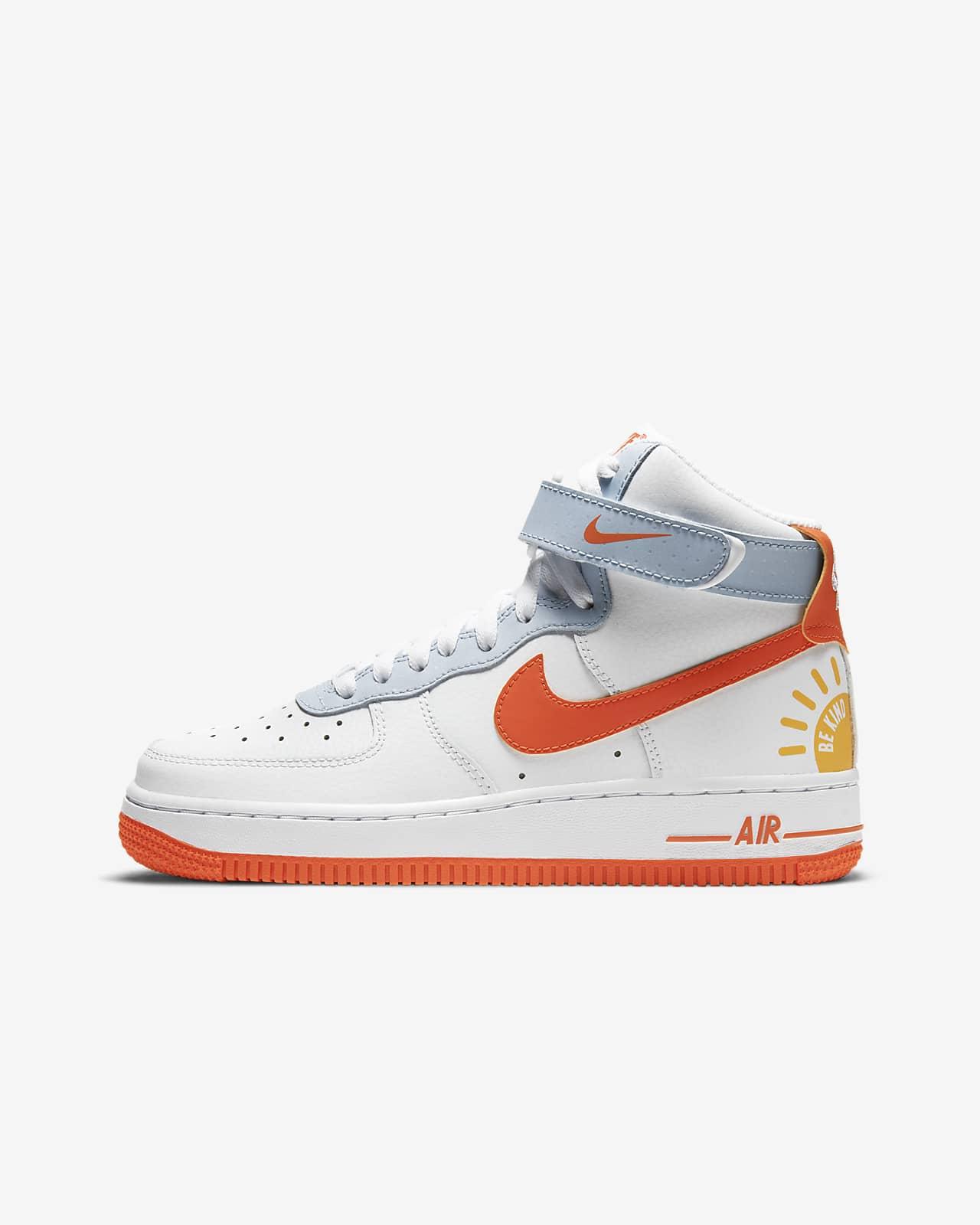 Calzado Para Ninos Talla Grande Nike Air Force 1 High Nike Com