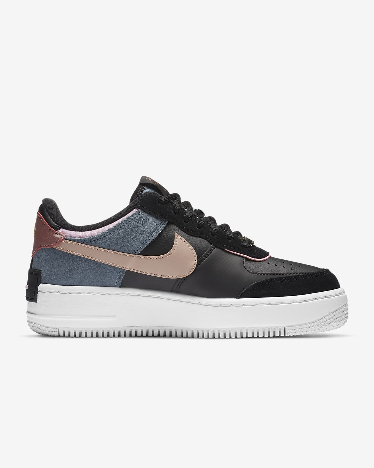 nike air force 1 shadow nere donna