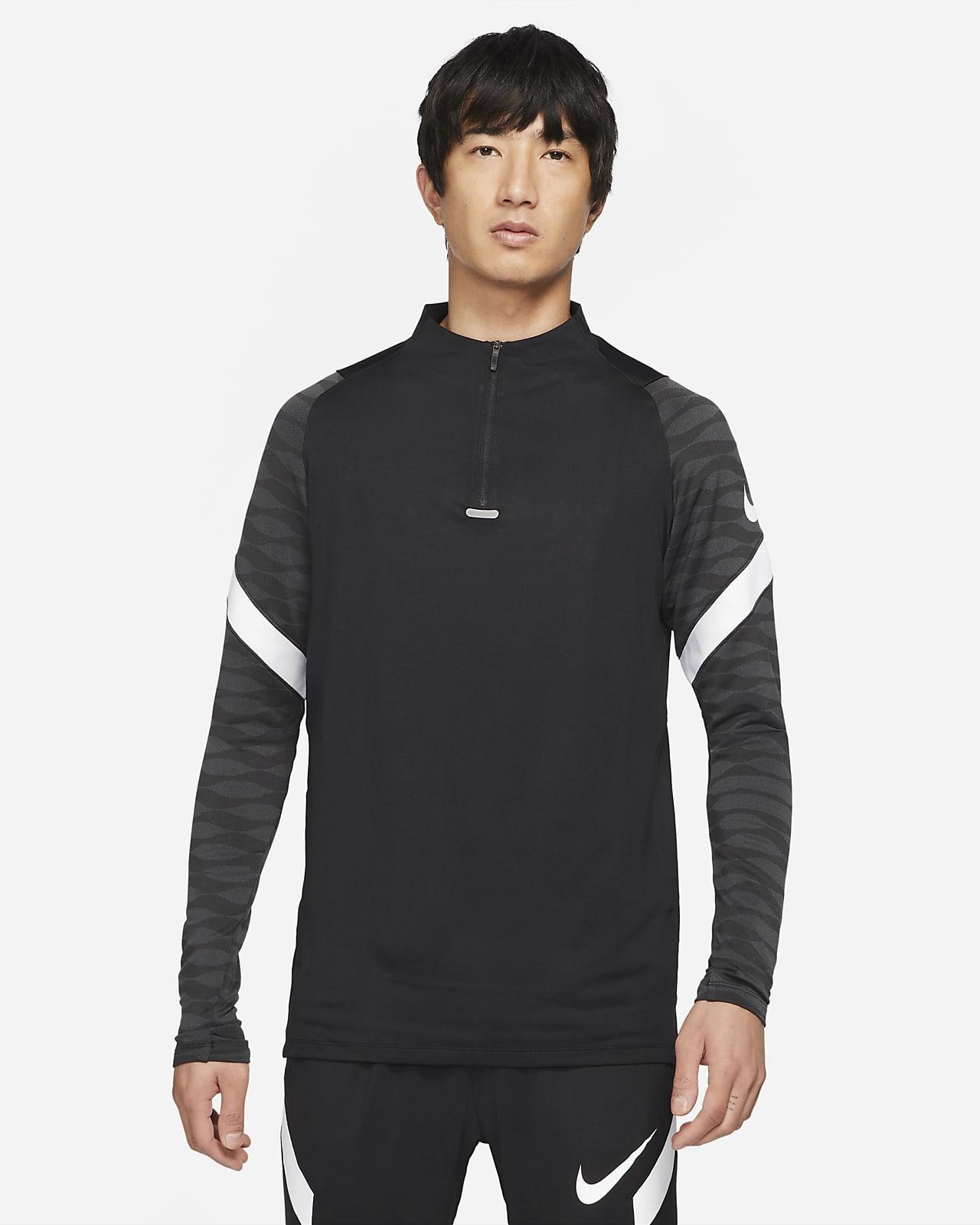 Camisola de treino de futebol com fecho a 1/4 Nike Dri-FIT Strike para homem